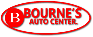 Bourne Auto Center logo.