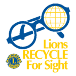 Lions recycle for sight eyeglasses and hearing aids.
