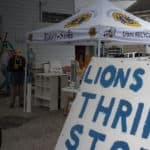 Easton Lions Thrift Store Front.
