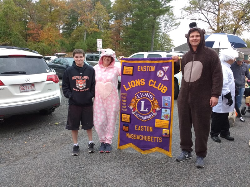 Halloween Parade Easton Lions Club and Easton Food Pantry