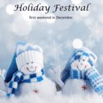 Easton Holiday Festival Snow People Logo