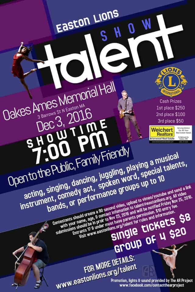 Talent Show Flyer Template  BesikEightyCo