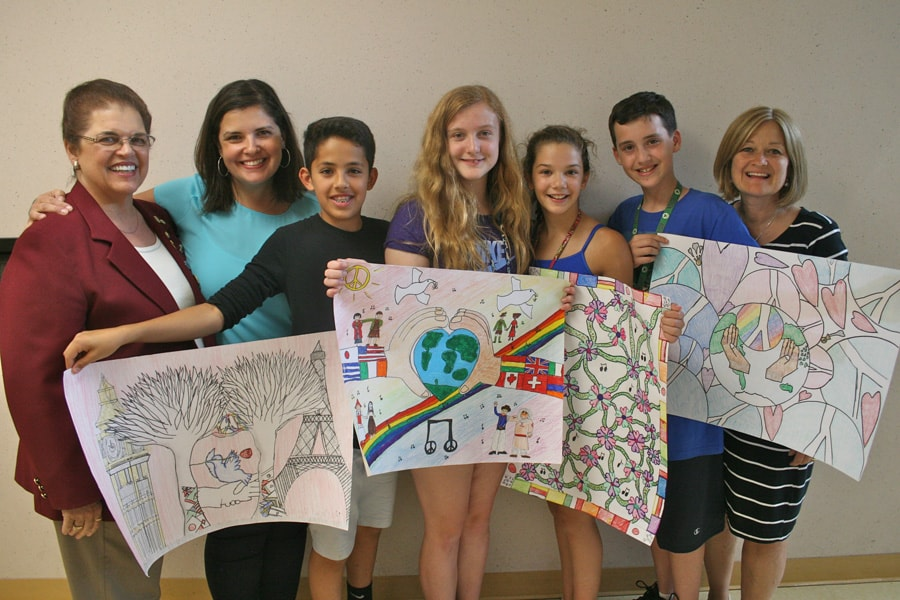 2015-2016 Easton local Peace Poster Winners