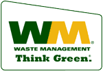 Waste Management Think Green Logo.