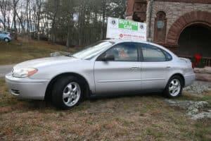 Bourne Auto donataed 2007 Ford Taurus.