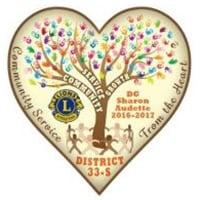 Massachusetts Lions District 33-S 2016-17 Logo