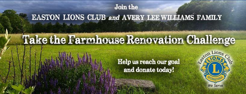 Smith Farm Farmhouse Renovation Challenge header image from facebook.