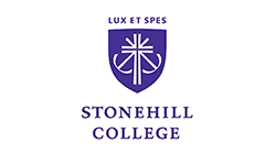 Auction Sponsor Stonehill Colege.