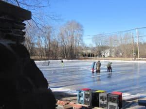Yardley-Wood Rink in Easton, MA