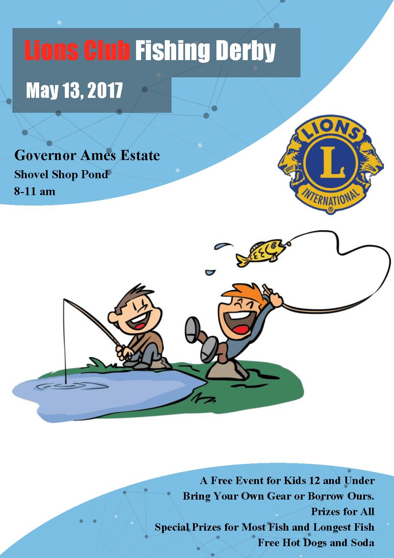 Easton Lions Fishing Derby 2017