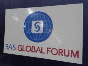 SAS Global Forum 2017 LEGO Picture