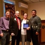 Easton Lions Club Presentation May 2017 from District 33S and MLERF Award.