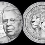 Lions Club 2017 Centennial Commemorative $1 Coin