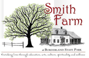 Smith Farmhouse at Borderland State Park in Easton, MA