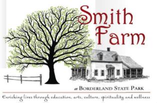 Smith Farmhouse at Borderland State Park in Easton, MA