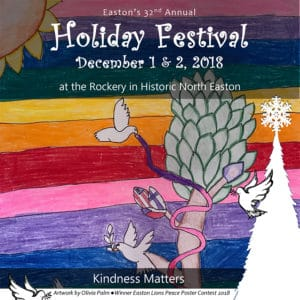 2018 Easton Holiday Festival Logo from Program Book Cover Page.