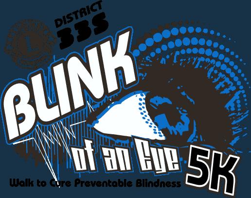 Blink of an Eye 5k Run and Walk - Di struct 33S