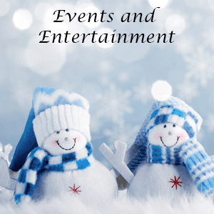 Easton Holiday Festival Events and Entertainment Snow People.
