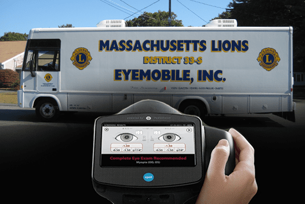 District 33S Lions Eyemobile with Spot Camera.