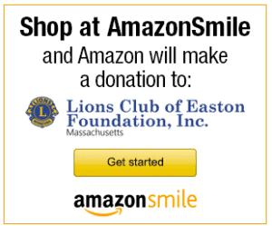 AmazonSmile donate to Lions Club of Easton Foundation, Inc, MA