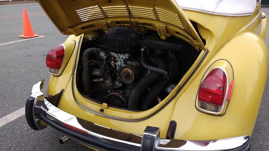 Easton Lions Auction Car 2018-1972 Volkswagen VW Beetle Convertible - Refurbished