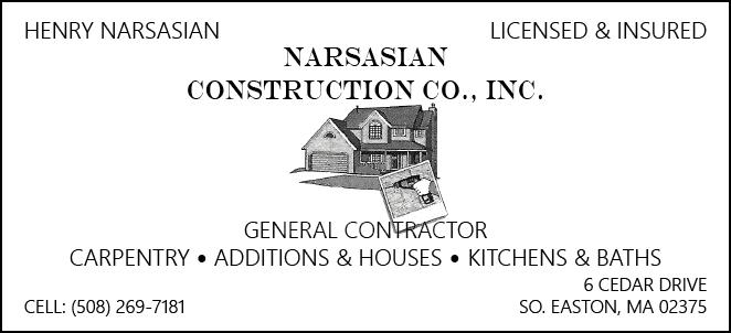 Narsasian Construction Logo.