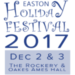 Easton Holiday Festival Dec 2 and 3, 2017 Logo
