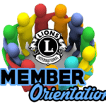 Easton Lions New Member orientation image with banums in a circle embrace-multi-colors.