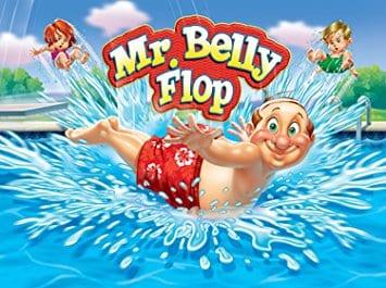 Mr. Belly Flop Cartoon