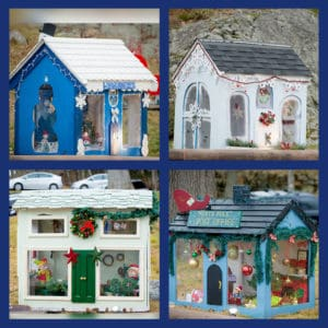 Holiday Festival Houses December 2017.