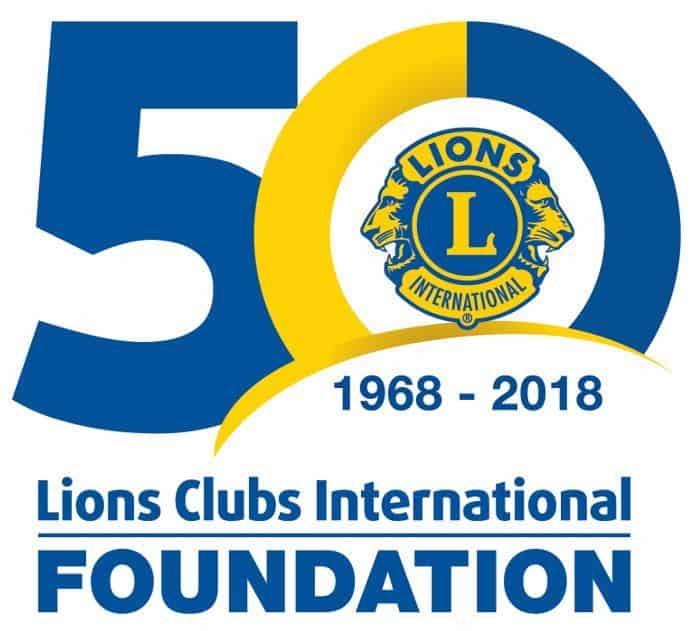 LCIF 50th anniversary logo