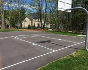 Ali's Park of Eastondale basketball court