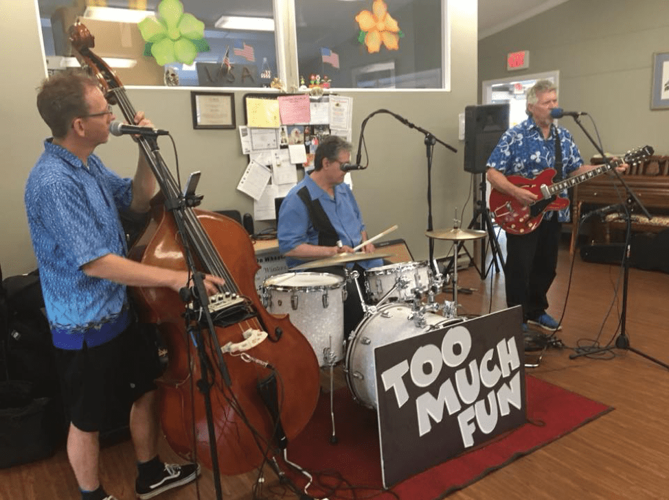 Easton Lions Club Senior Dance Party 2018 with Too Much Fun Band.