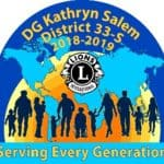 District 33S logo Kathy Salem