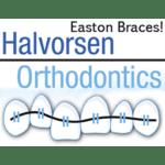 Halvorsen Orthodontics Easton Braces logo