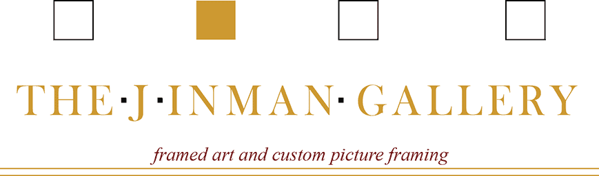 The J Inman Gallery logo rectangle