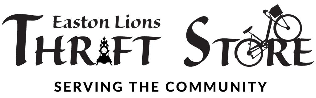 Easrton Lions Thrift Store logo serving the community