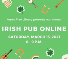 Ames Free Library – Virtual Irish Pub Celebration