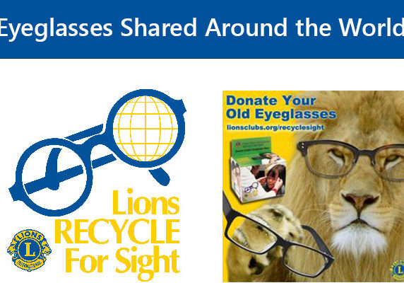 Lions Recycle for sight.